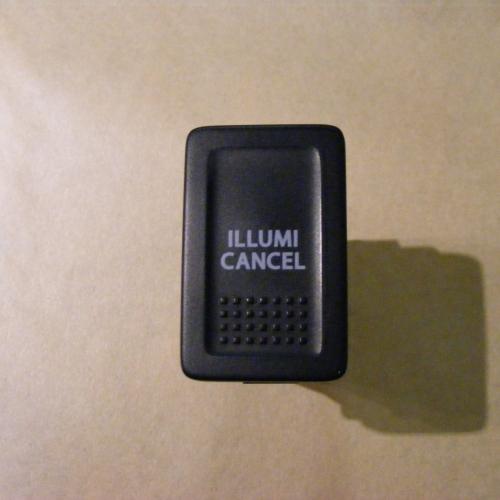 2005-2010 Suzuki Swift Műszerfal háttérvilágítás csökkentő kapcsoló Illumi cancel.  3000Ft