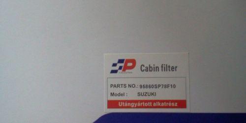 Suzuki Ignis, Wagon R+ Pollenszűrő 95860SP78F10  95860-78F10 1900Ft