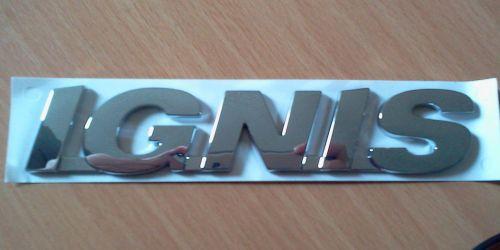 Suzuki Ignis embléma, felírat, logó 77861-86G00-0PG  Gyári Ft/db 3900Ft