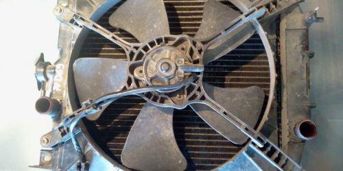 1996-2003 Suzuki Swift Vízhűtő ventilátor Ventilátor keret, lapát és motor. 8000Ft