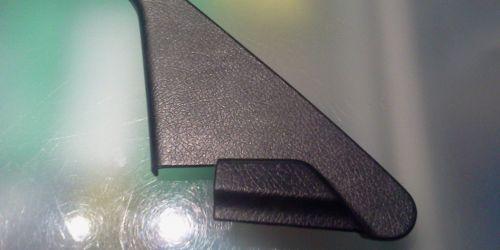 1996-2003 Suzuki Swift - Visszapillantó tükör bal oldali belső háromszög műanyag takaró fekete színű 83756-66E00-5PK 1000Ft