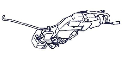 Suzuki Wagon R+ Jobb oldali hátó zár, központi zár betét 82301-83E00 5000Ft