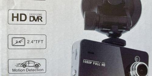 Full HD Autós Kamera Mozgásérzékelővel Video rögzítése könnyedén, 1920x1080 felbontásban, TF kártyára.  5900Ft