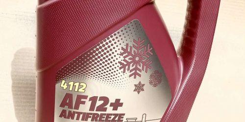 Mannol 4112 AF12+ Fagyálló koncentrátum 5L Monoetilén-glikol alapú piros színű fagyálló koncentrátum egész éves használatra. Bármilyen korszerű hűtési rendszerhez. Véd a korróziótól és a ráégésektől. Nem habosodó, semleges a vízcsövekhez és tömítésekhez. Korrózióvédő hatást fejt ki, nem tartalmaz nitrátokat.  Hígítási arányok: 35% fagyálló - 65% víz: -20°C   40% fagyálló - 60% víz: -25°C 45% fagyálló - 55% víz: -29°C 50% fagyálló - 50% víz: -38°C  4990Ft