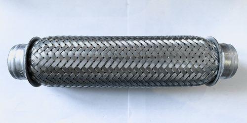 Flexibilis kipufogócső 40x260 Hossza: 260 mm 1. Belső lyukátmérő: 40 mm 2. Belső lyukátmérő: 40 mm 4990Ft