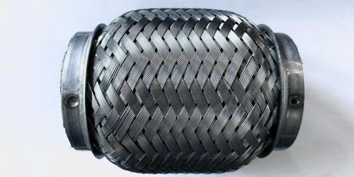 Flexibilis kipufogócső 105x55 Hossza: 105 mm 1. Belső lyukátmérő: 55 mm 2. Belső lyukátmérő: 55 mm 4990Ft