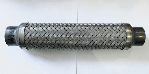 Flexibilis kipufogócső 200x35 Hossza: 200 mm 1. Belső lyukátmérő: 35 mm 2. Belső lyukátmérő: 35 mm 4990Ft