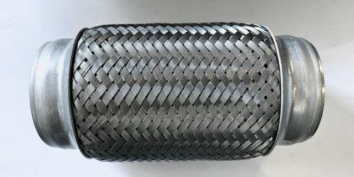 Flexibilis kipufogócső 150x60 Hossza: 150 mm 1. Belső lyukátmérő: 60 mm 2. Belső lyukátmérő: 60 mm 7900Ft