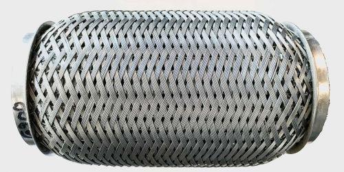 Flexibilis kipufogó cső 160x65 Hossza: 160cm 1. Belső lyukátmérő: 65 mm 2. Belső lyukátmérő: 65 mm 4990Ft